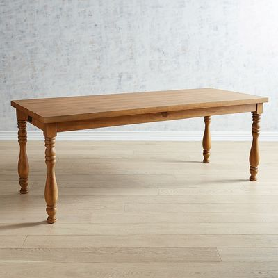 The Vase Dining Table Has An Extra Thick Top And Sturdy Farmhouse