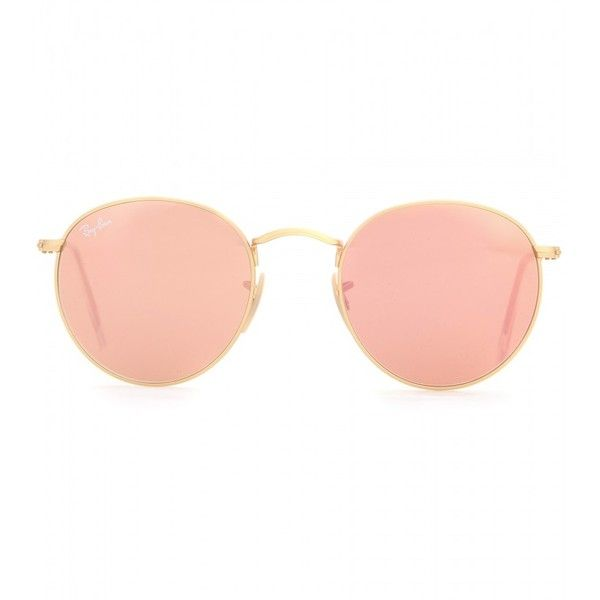 14afb587fa671 Gafas de sol  ray ban redondas con cristales rosas  eyewear