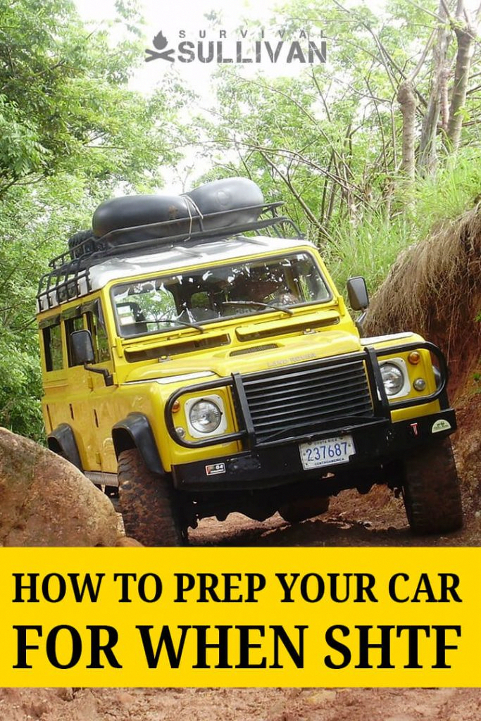 How To Prep Your Car For When Shtf Survival Sullivan Shtf Survival Survival Tips Survival Prepping