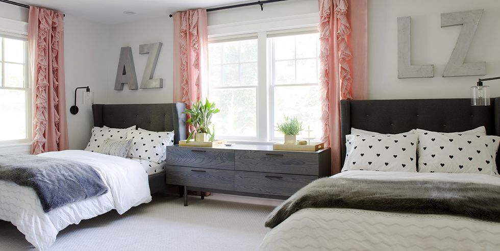 These Stylish Bedroom Designs Would Be A Hit With Any Girl Stylish Bedroom Design Girl Bedroom Decor Tween Girl Bedroom