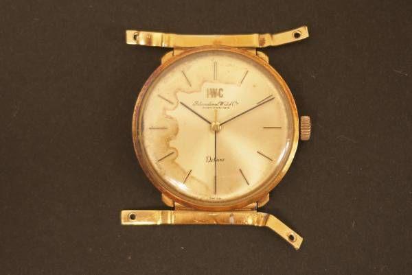 時計 4ジャンクIWCシャフハウゼン750K18アンティーク手巻き Watch ¥4100円 〆03月19日