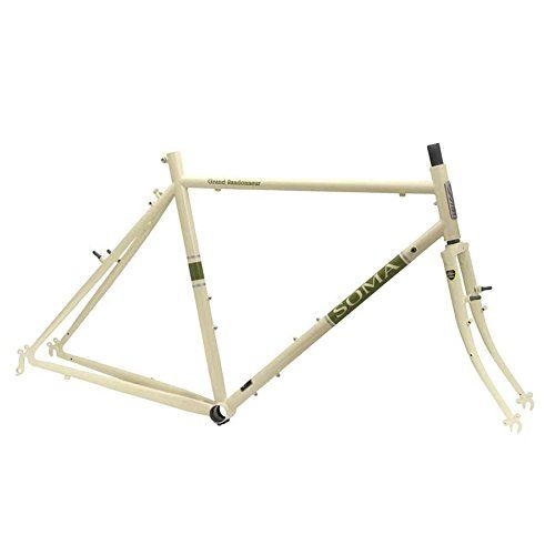 road bike frames soma grand randonneur framefork 58cm ivory want to know more