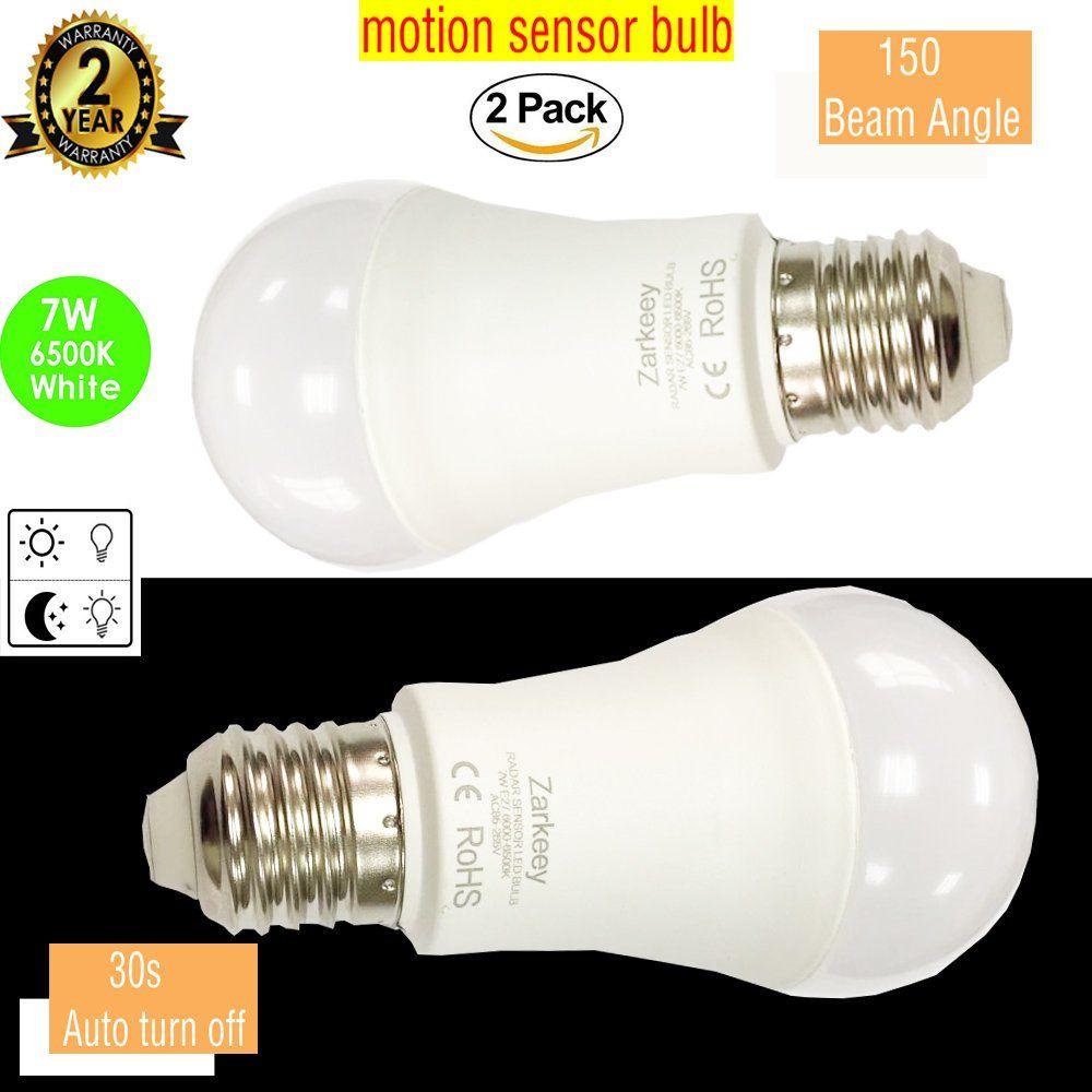 Sensor Light Bulb Dusk To Dawn Porch Led