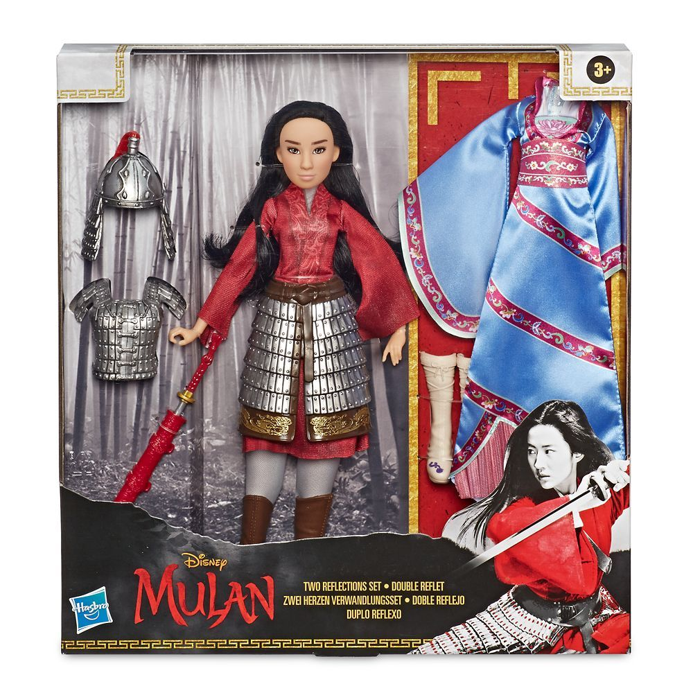 Mulan Two Reflections Doll By Hasbro Ndash Live Action Film Ndash 12 3 4 Shopdisney Ad Hasbro Aff Ndash In 2020 Disney Princess Dolls Fashion Dolls Mulan