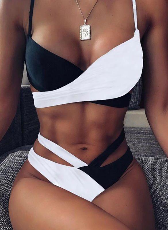 [US$ 21.99] Low Waist Strap Sexy Bikinis Swimsuits – Sisladdy