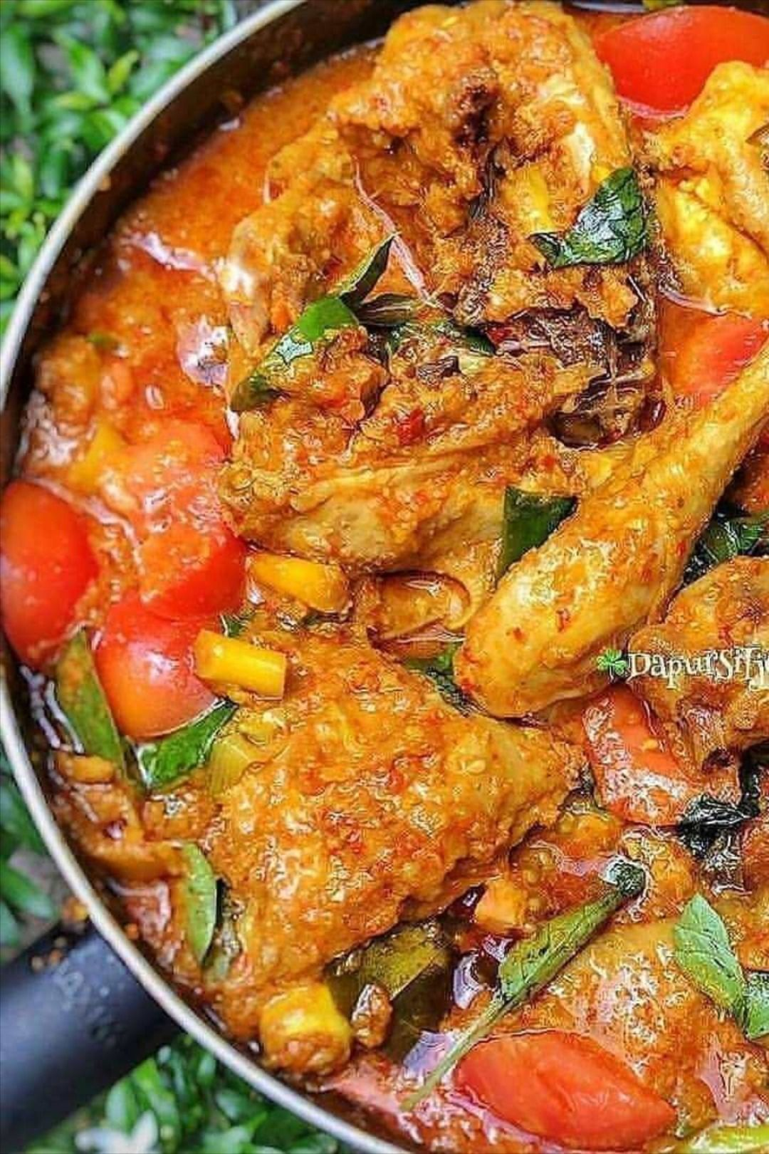 Ayam Woku Resep Ayam Resep Masakan Masakan