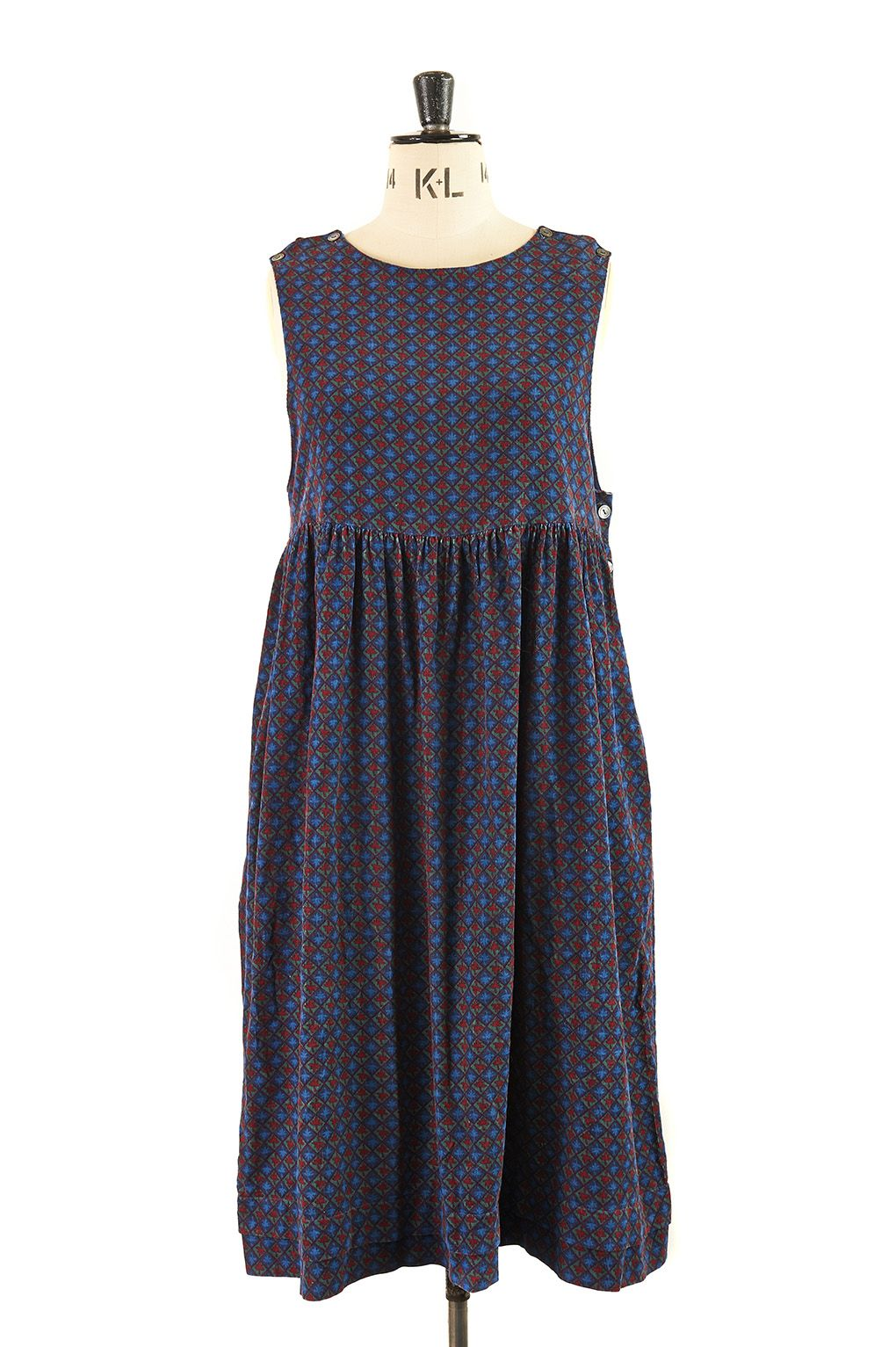 A pinafore dress from Laura Ashley in beautifully soft needlecord ...