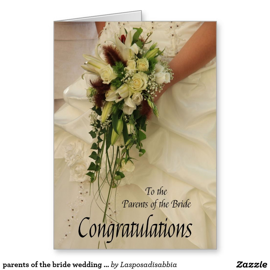 Parents of the bride wedding congratulations greeting card all parents of the bride wedding congratulations greeting card m4hsunfo
