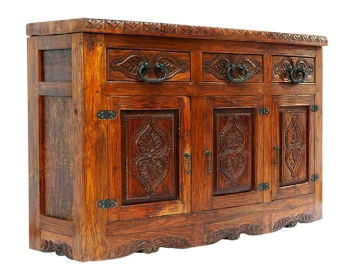 Tuscany Collection Hand Crafted Old World Tables Credenzas