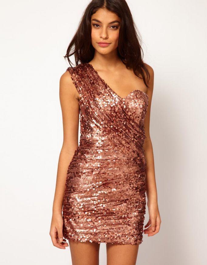 Glitter dresses fashion