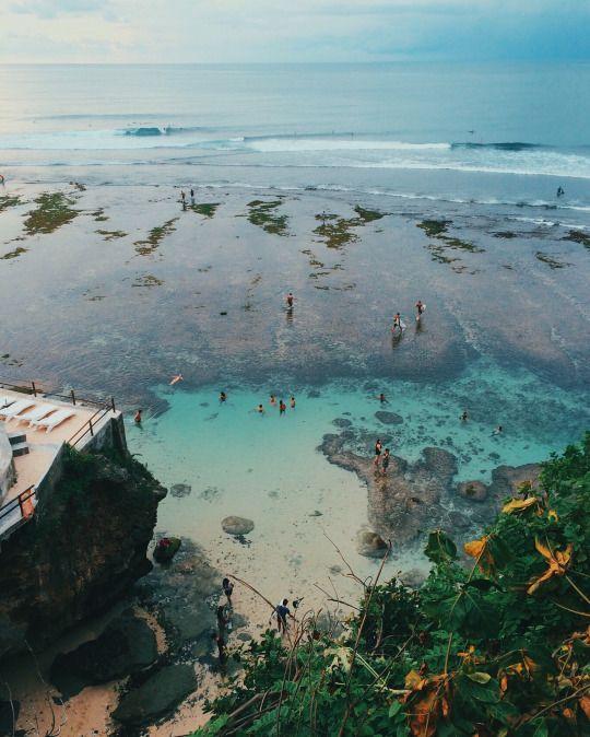 blue point beach   uluwatu bali   ocean   summer   tropical   exotic   travel places   destinations   travelling