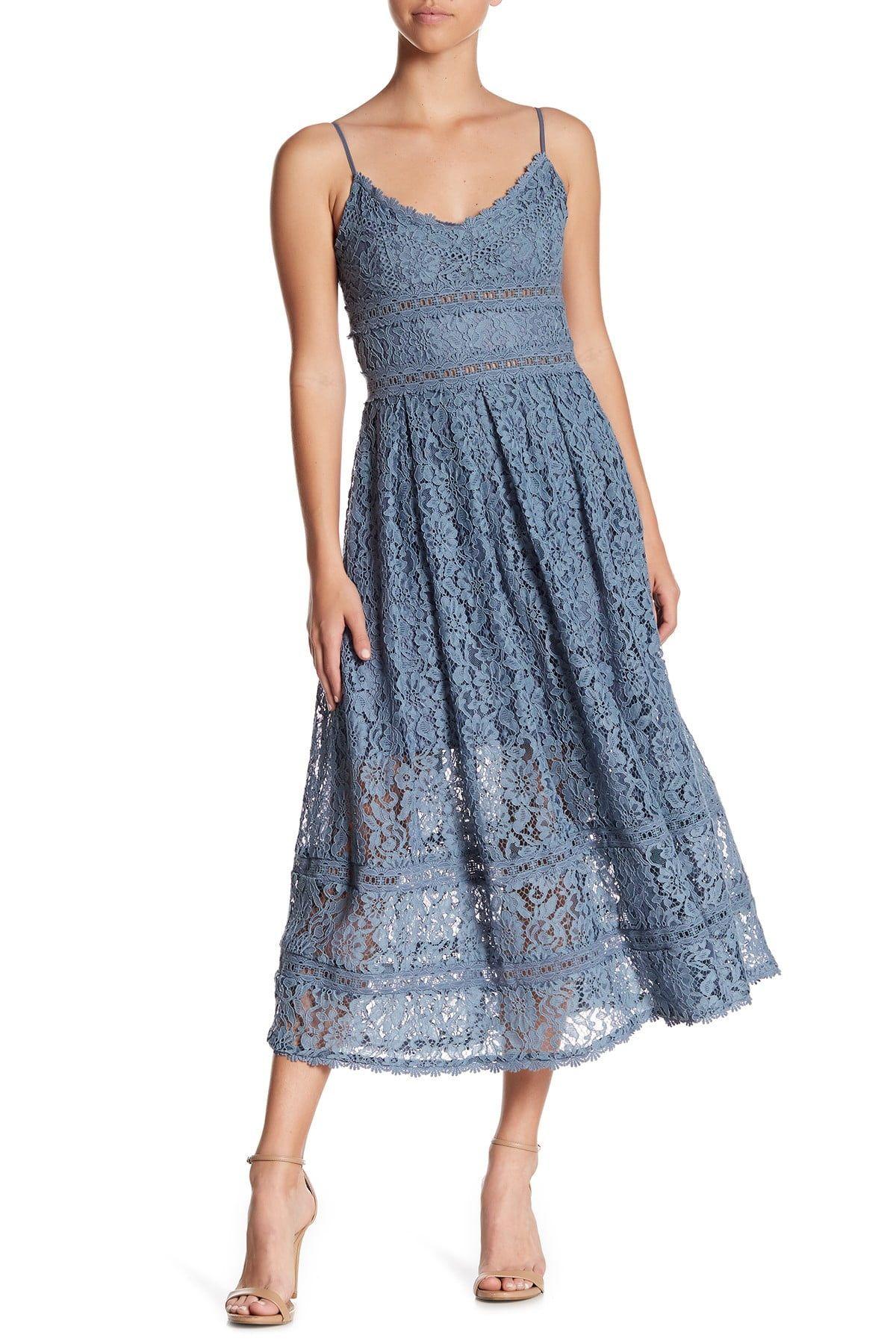 Nsr Sleeveless Lace Midi Dress Nordstrom Rack Lace Midi Dress Lace Summer Dresses Nordstrom Dresses [ 1800 x 1200 Pixel ]