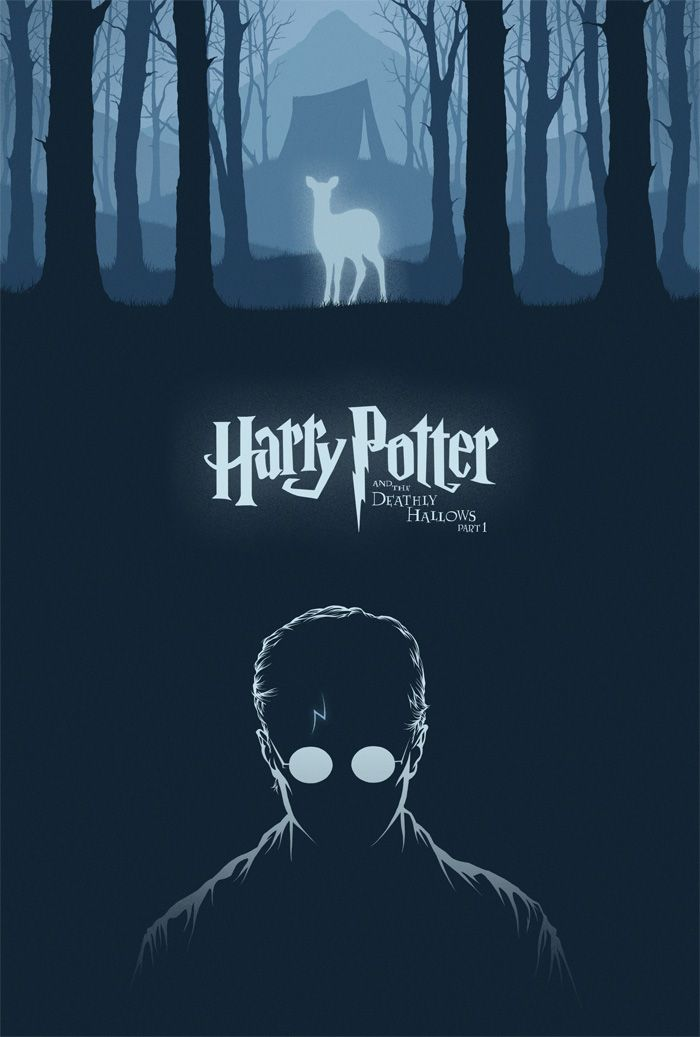 Harry Potter And The Deathly Hallows Part 1 By Cameron K Lewis Harry Potter Poster Harry Potter Wallpaper Harry Potter Universal