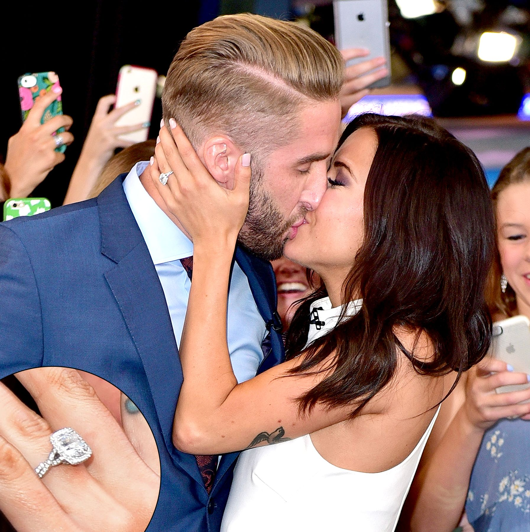 Bachelorette Kaitlyn Bristowe Shows f Massive Engagement Ring