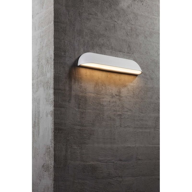 Eclairage terrasse - Luminaire Front IP44 L26 cm LED - Blanc Shops