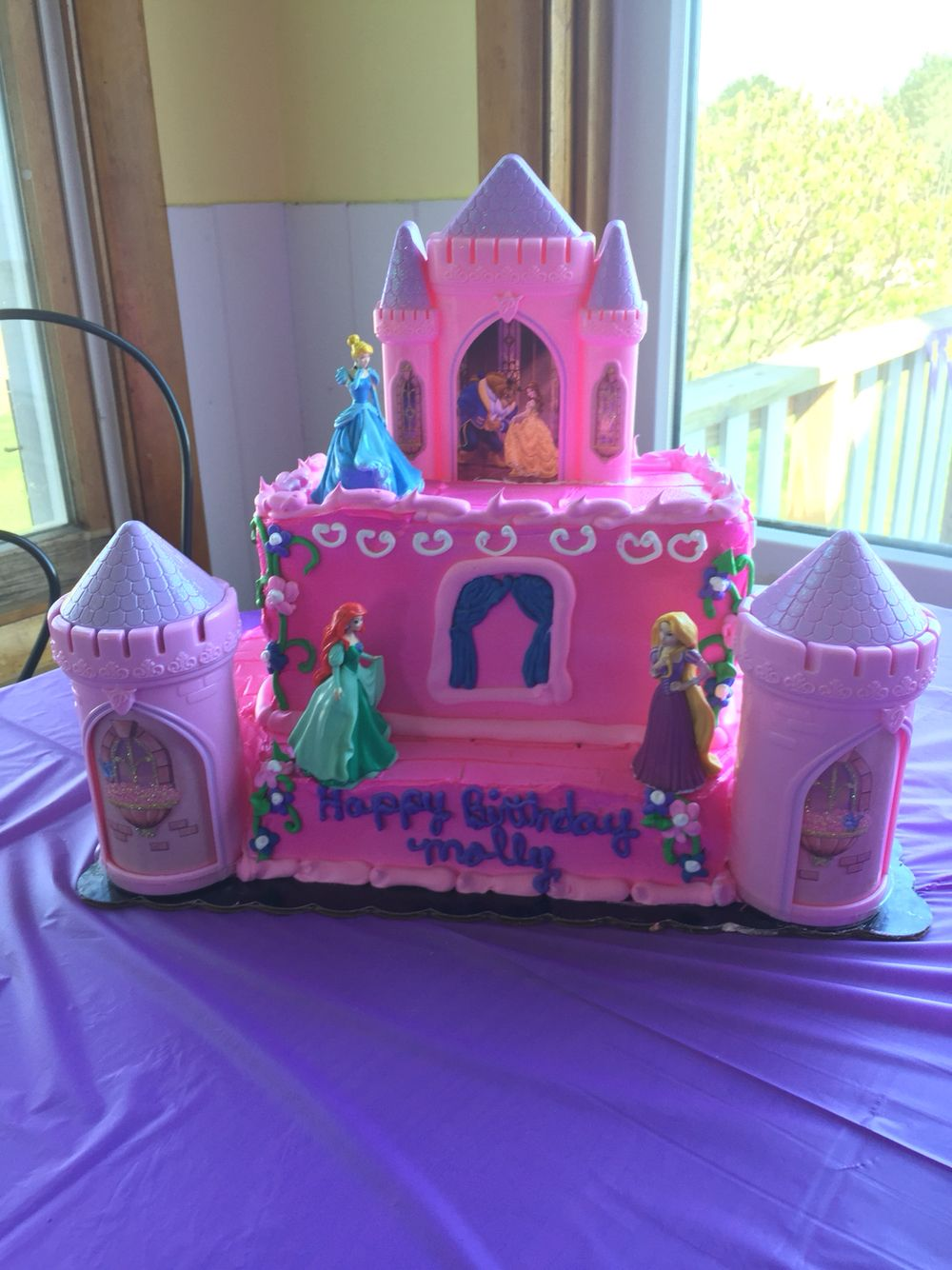 Remarkable Princess Cake From Meijer With Images Princess Birthday Cake Funny Birthday Cards Online Inifodamsfinfo