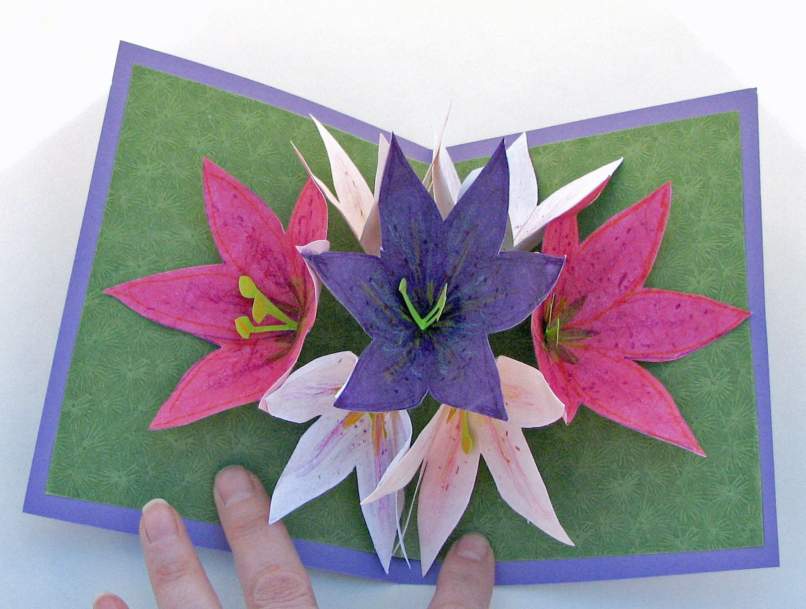 Easy handmade cards tutorials pop up flower card geburtstag easy handmade cards tutorials pop up flower card kristyandbryce Images