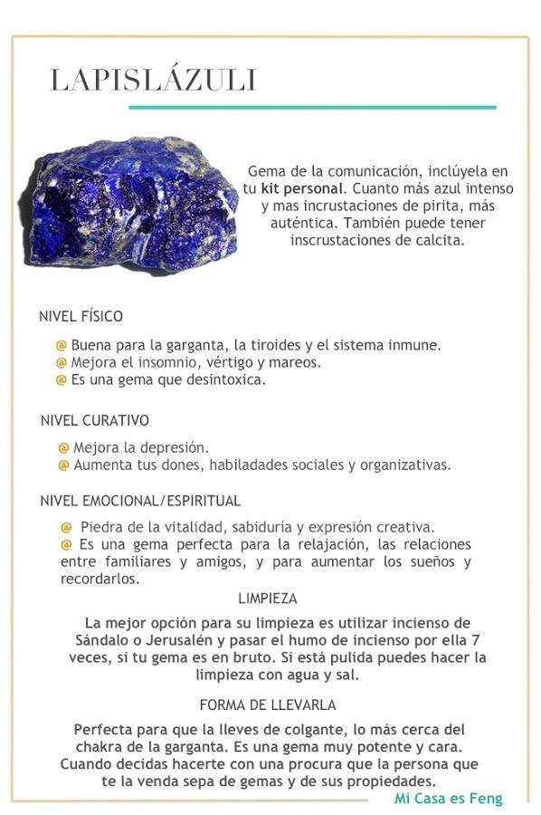 Gemas Lapislázuli Piedras Y Cristales Minerales Y Piedras Preciosas Piedras Curativas