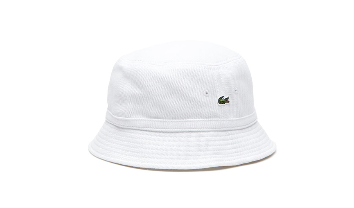 1dc8871035bcd Lacoste Men s Cotton Piqué Bucket Hat    60 USD SHOP NOW.