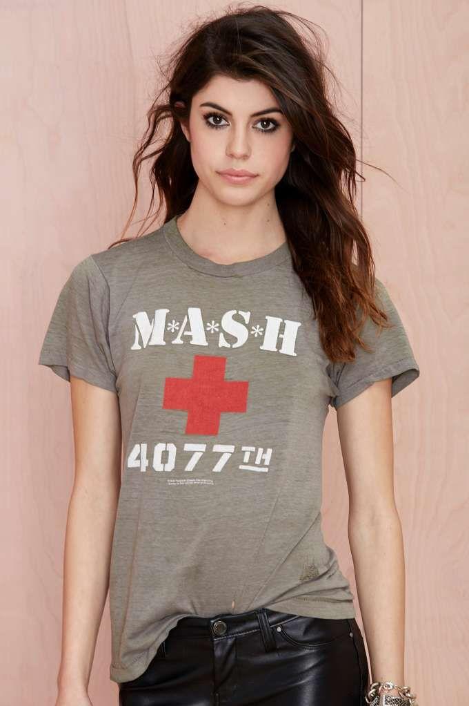 d6d523bd Vintage MASH 4077th Tee awesome | Fashion | Mash 4077, Fashion ...