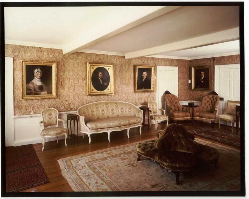 The Old House at Peacefield Quincy MA Long Room MJ visits