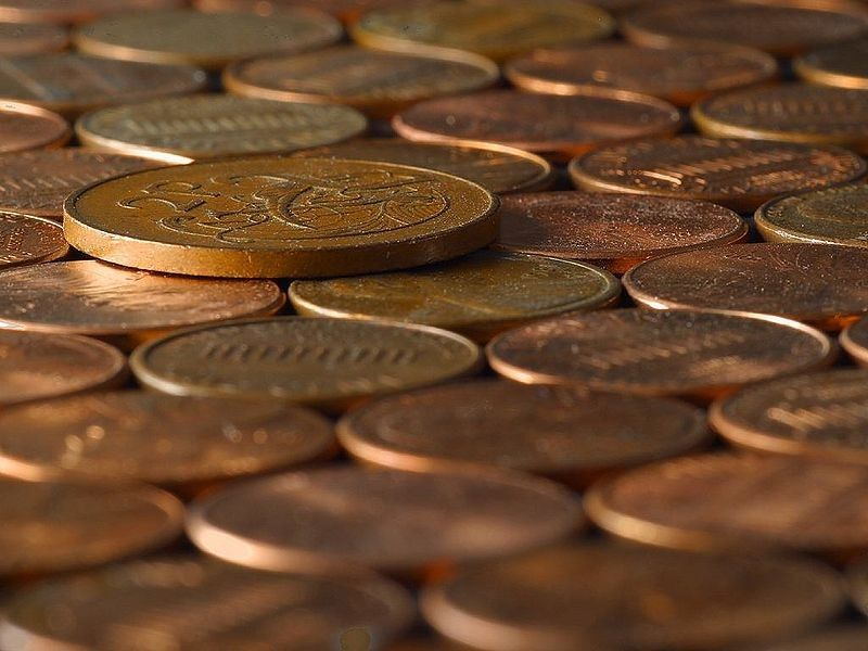 Mortgage paid in pennies