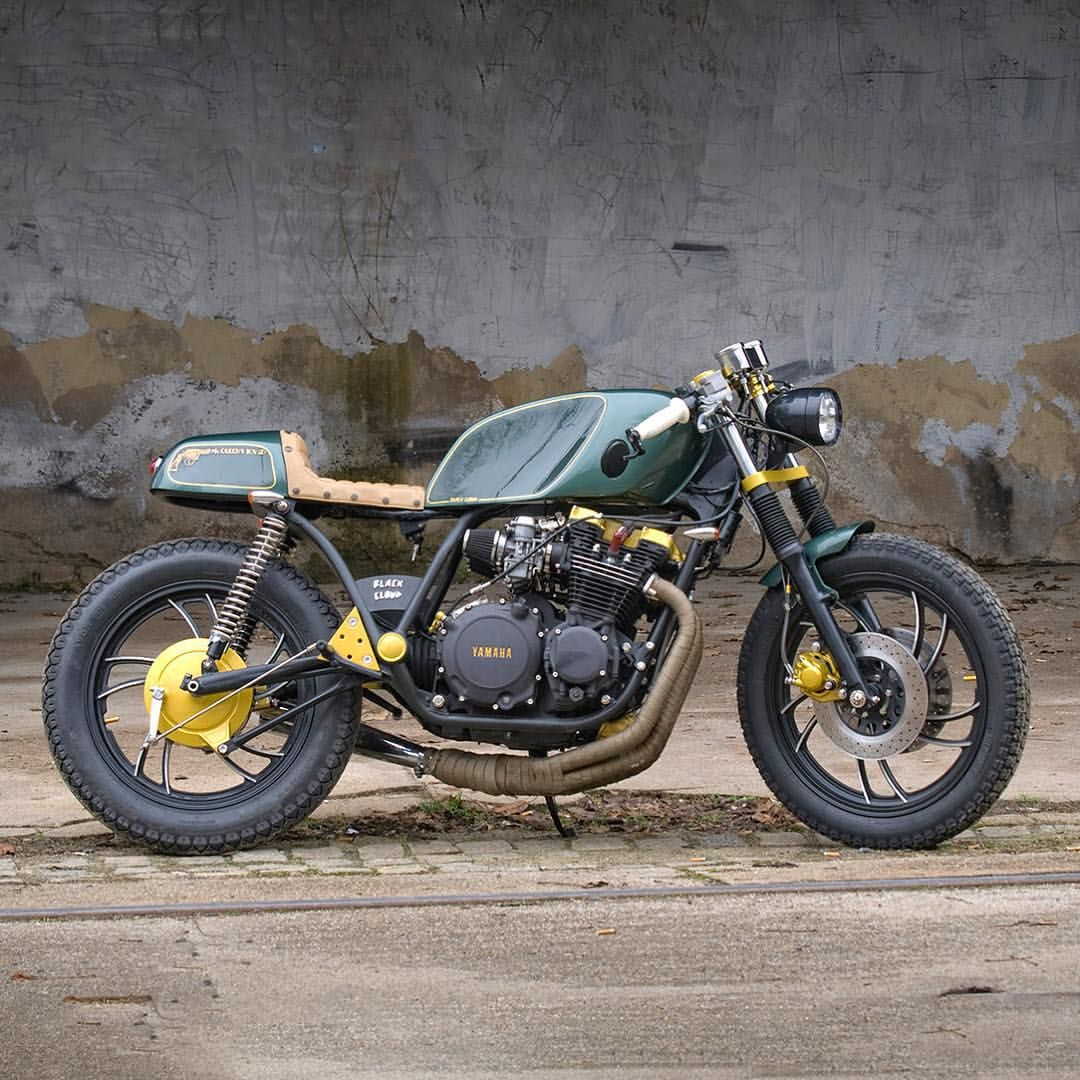 1980 yamaha xj 650 cafe racer courtesy of the czech. Black Bedroom Furniture Sets. Home Design Ideas