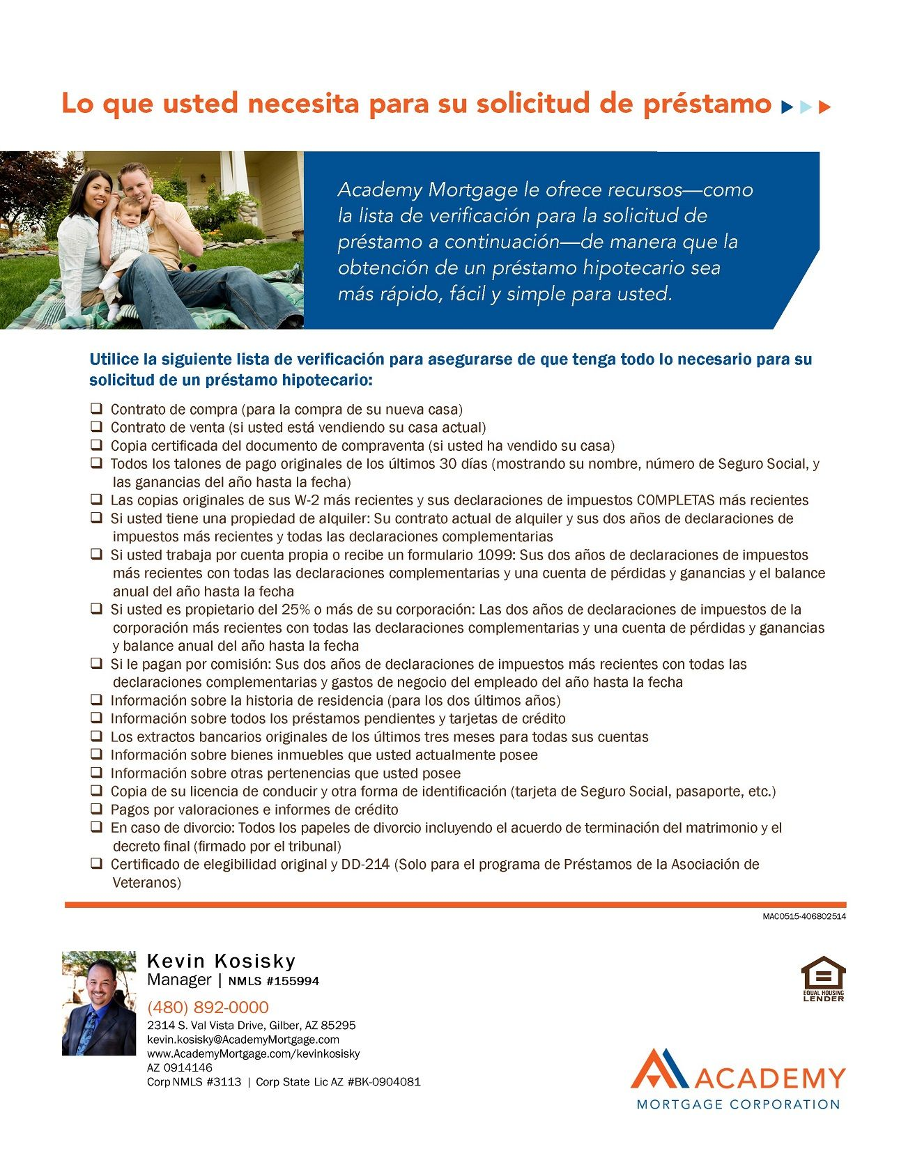 House cleaning checklist in spanish - Loan Application Process Checklist Spanish