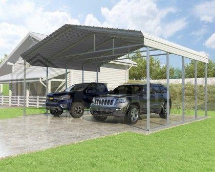 Classic Carport Roof Only 24 X 20 X 10 Carport Diy Carport Kit Building