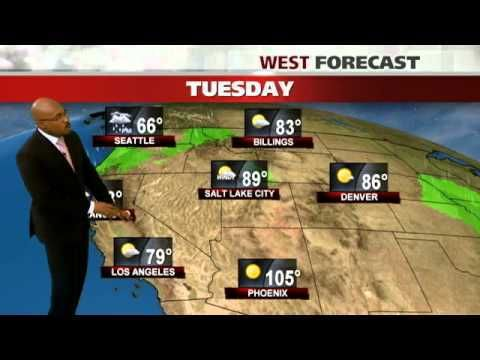 Los Angeles Weather Forecast Sharing The Weather Channel Videos Weather News Weather Forecast Story Video