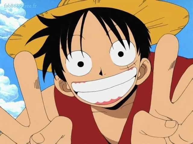 Luffy grin peace signs | Manga anime one piece, Anime best friends, One  piece manga