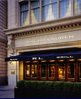 Ralph Lauren Restaurant: Where form, function, and 'club' food meet.