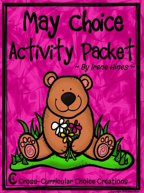 May Choice Activity Packet: Spring No Prep Cross Curricular Anchor Activities For Second Grade! This is the second packet of my new line: Cross Curricular Choice Creations! This choice activity packet is perfect for independent anchor activities! Teachers can provide differentiation due to student choice of activities. $