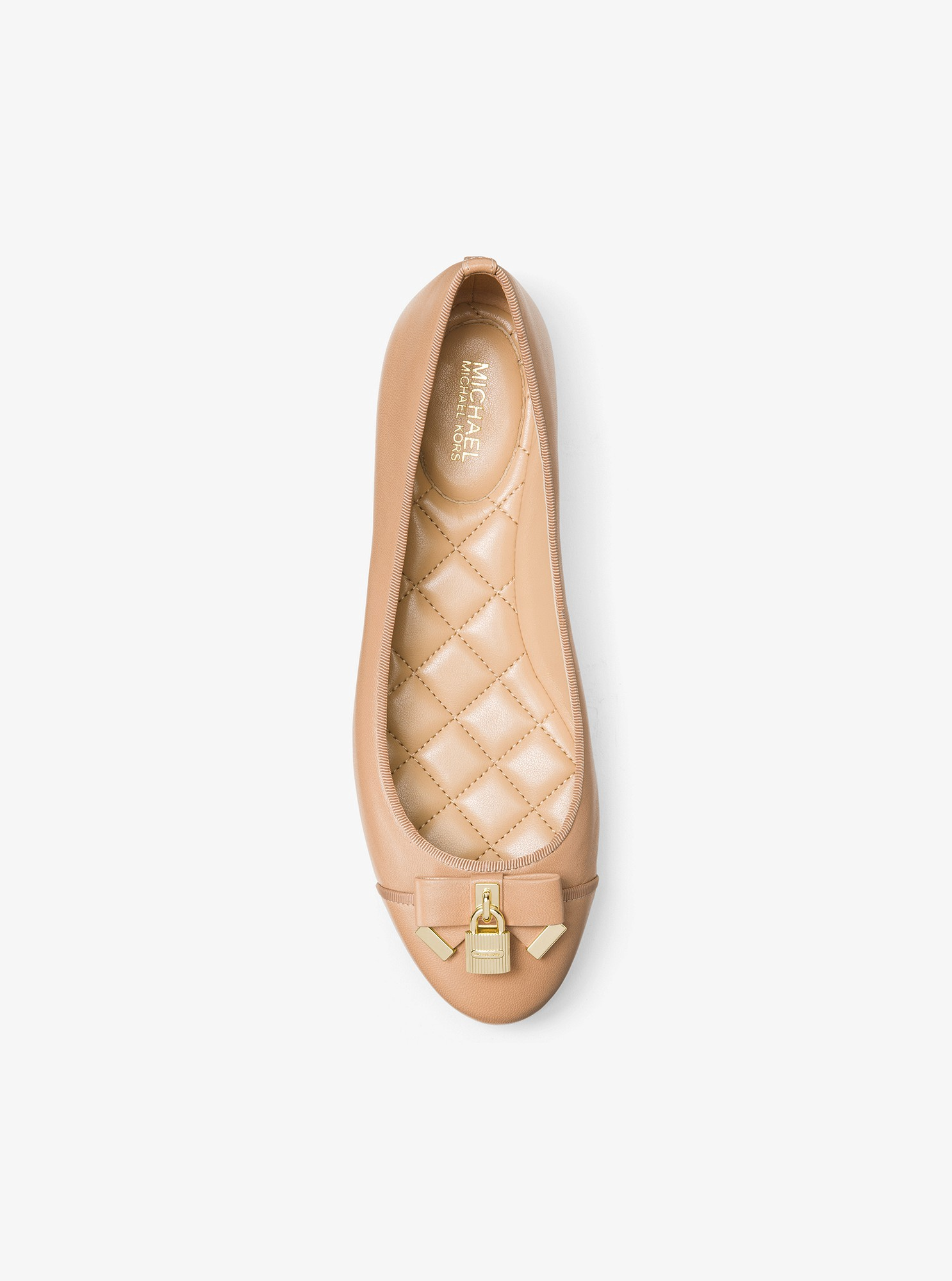 967f3872f8f Michael Kors Alice Leather Ballet Flat - Toffee 9.5