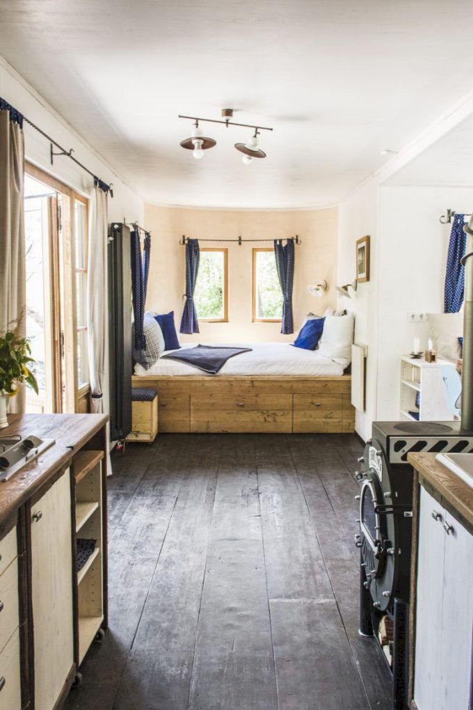 The Best Tiny House Interiors Plans We Could Actually Live In 48 Ideas Tiny House Interior Tiny House Living Modern Tiny House