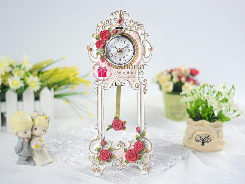 Elegant Gift Fb Tic Toc Exclusive Table Clock For Wedding Birthday