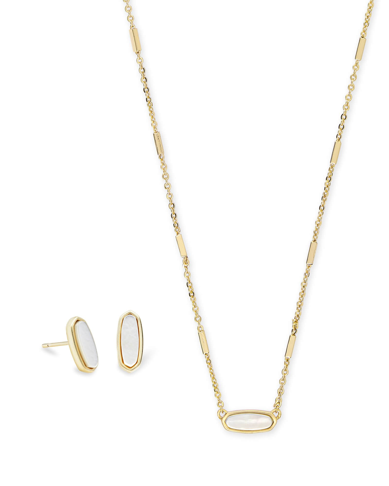 8c09ab796 Shop the Mae Gold Stud Earrings and the Miya Gold Pendant Necklace together  and save.