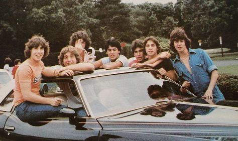 Image result for teen agers hanging out on cars pictures