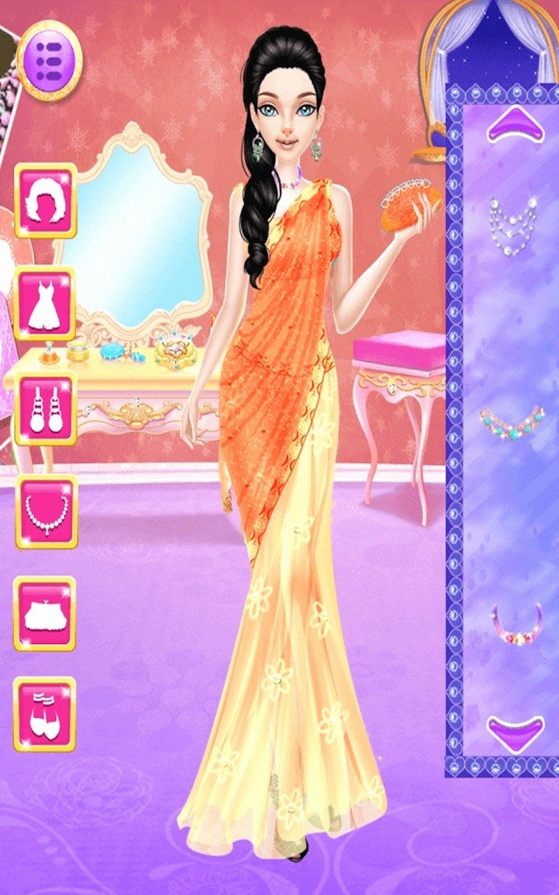 Online Games Barbie Dress Up Wedding Lovely Amazon Indian