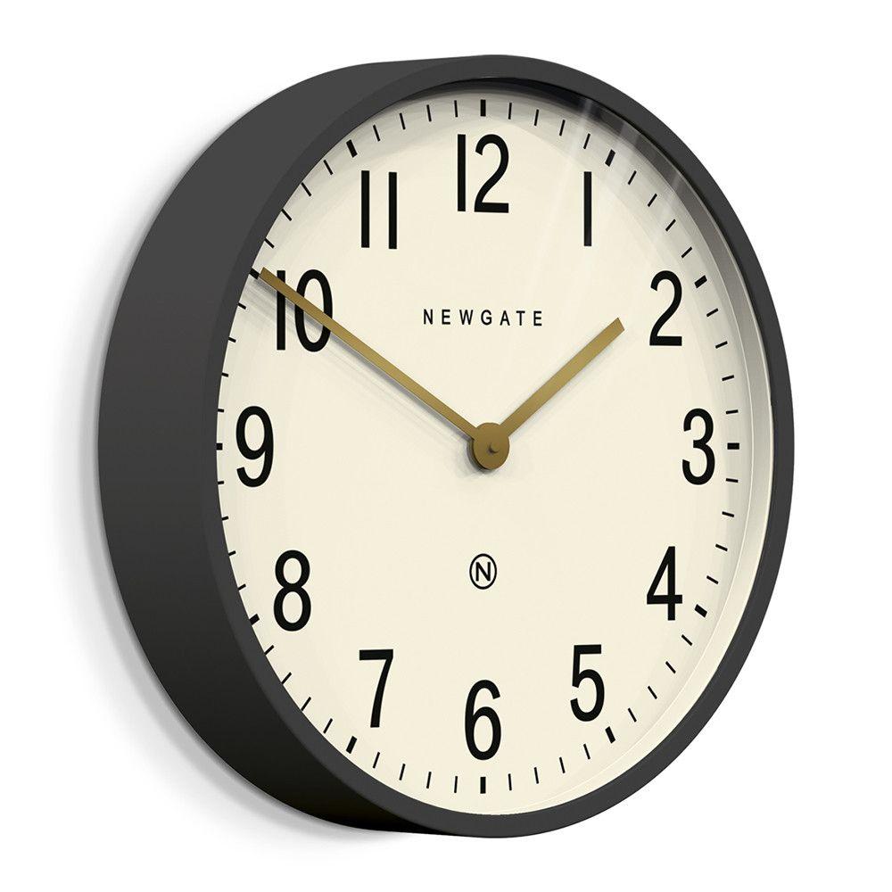 Buy Newgate Clocks Mr Edwards Wall Clock Matt Blizzard Gray Newgate Clocks Grey Clocks Grey Wall Clocks