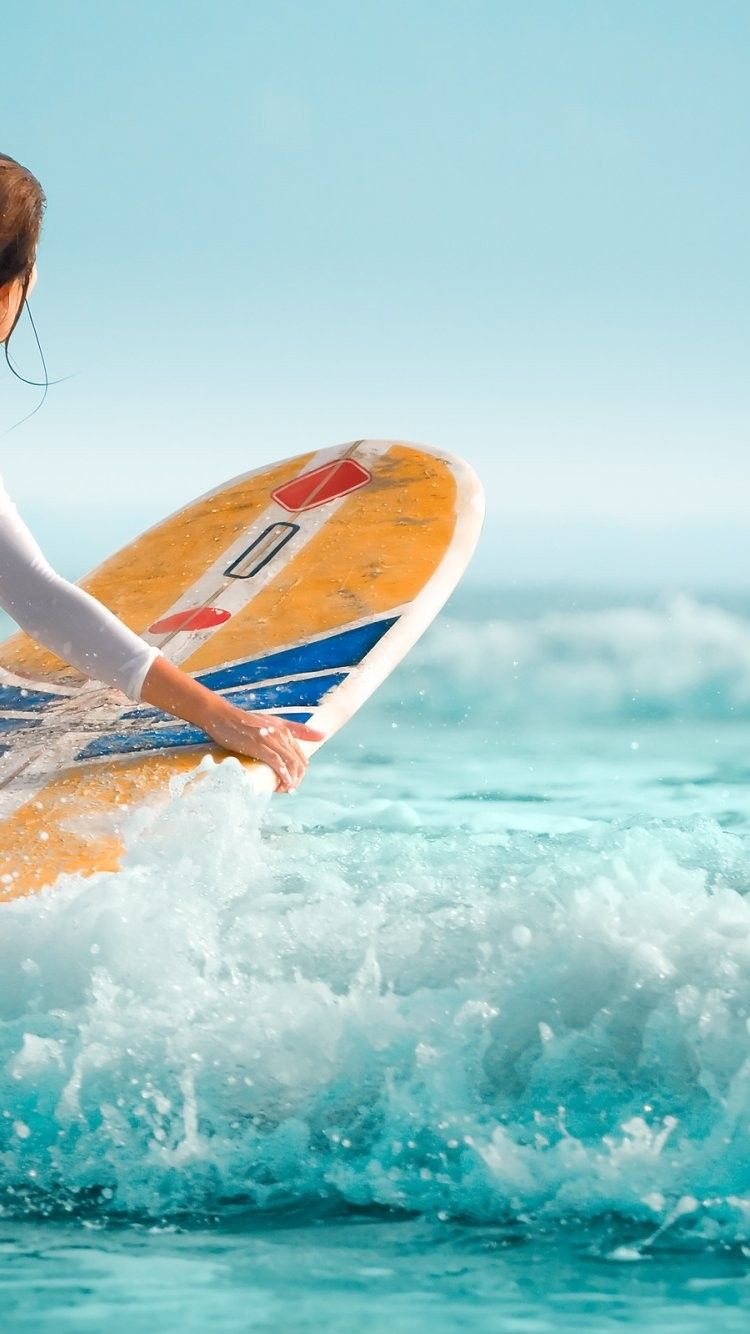 Surfer Girl Iphone 6 Wallpaper 28103 Sports Iphone 6