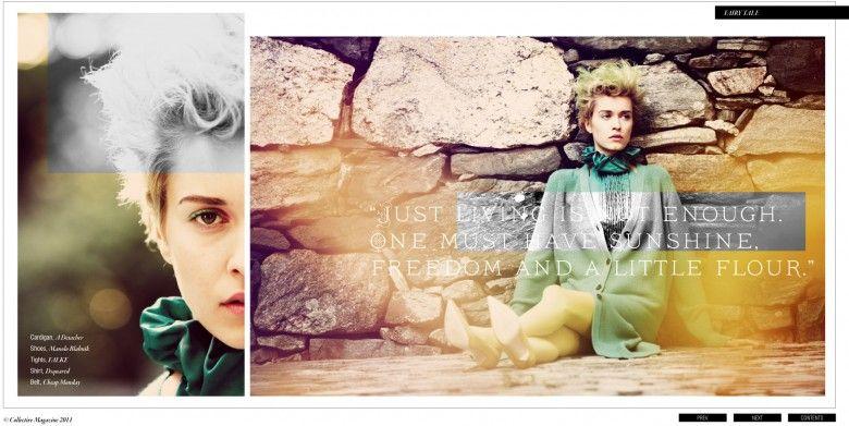 The Collective Magazine Fashion Story: Fairy Tale : nick onken shoptalk