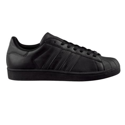 negozio mens adidas superstar 2 scarpa da ginnastica, di colore nero,