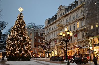 Christmas In Sweden.Sweden Christmas Lights In Helsingborg I Would Love To Go
