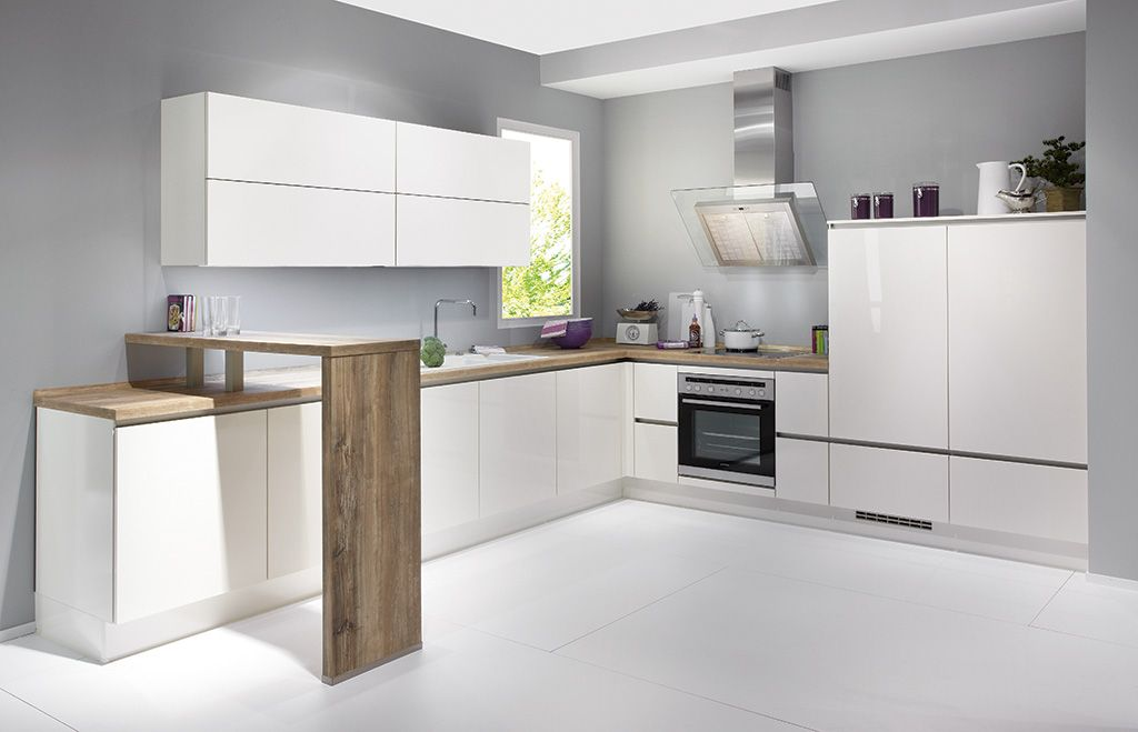 Cocinas peque as en forma de l buscar con google ideas para mi casa pinterest cocina - Cocinas forma l ...