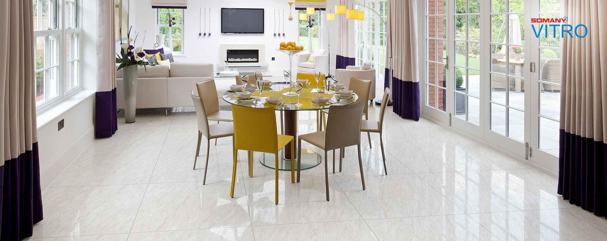 Floor Tile Bedroom Kajaria Vitrified Tiles in 2020 Tile