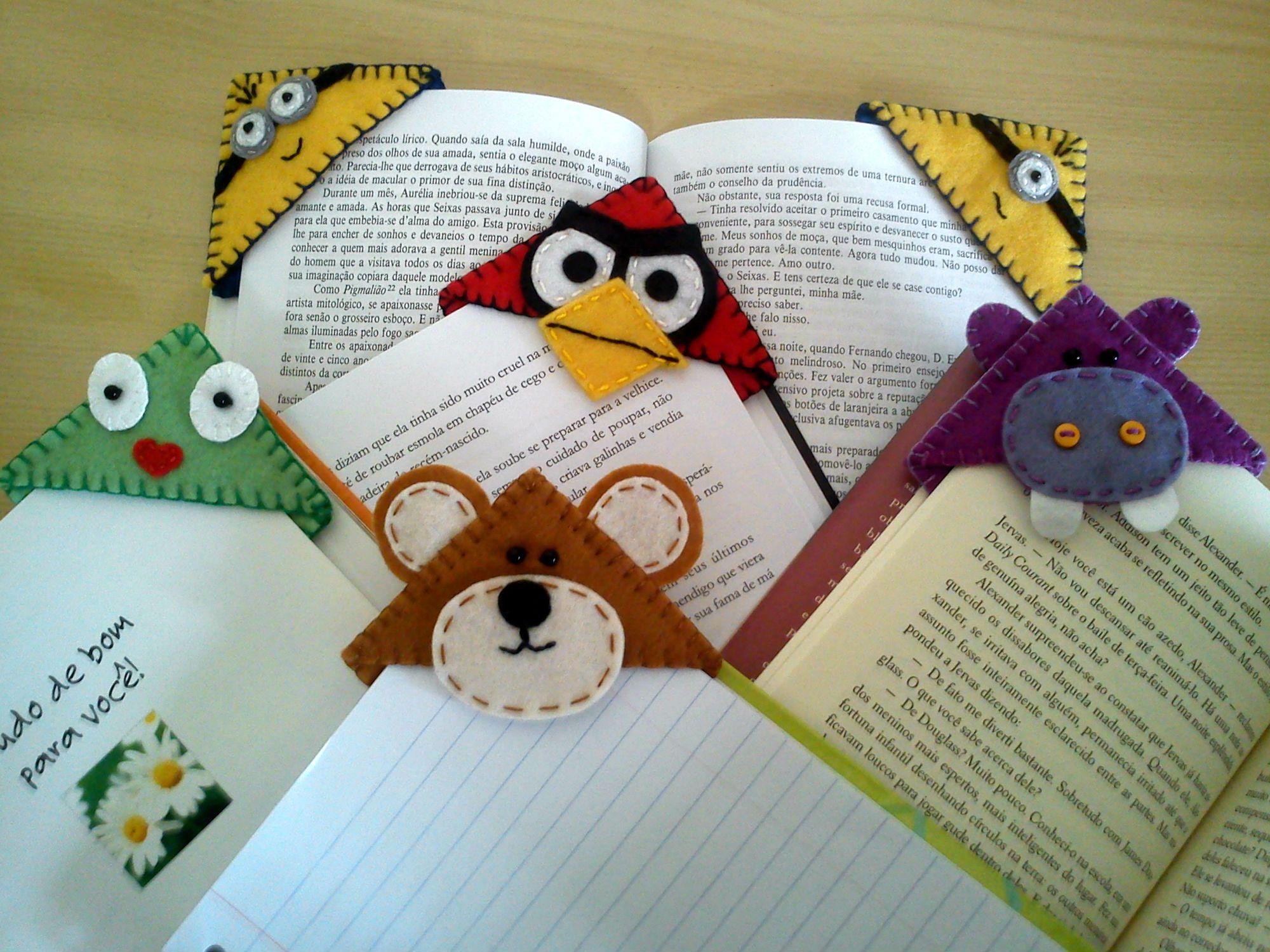Закладка из фетра для книг своими руками шаблоны