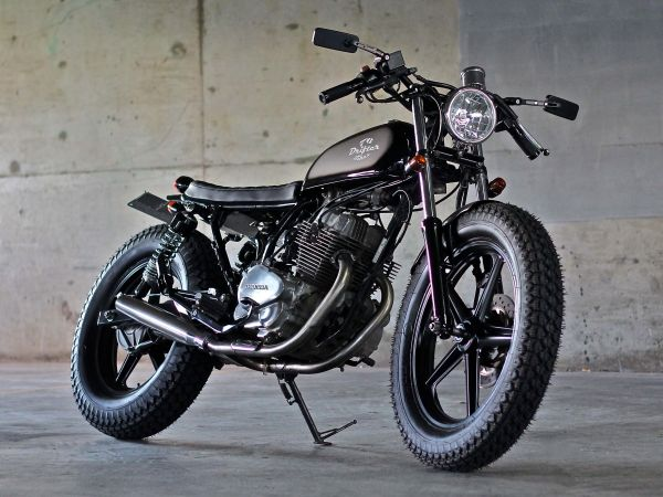 "honda cb250 ""bubba""drifter bikes - featured on australian cafe"