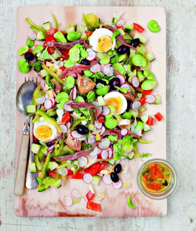 Provence, les meilleures recettes РLa salade ni̤oise | MA ...