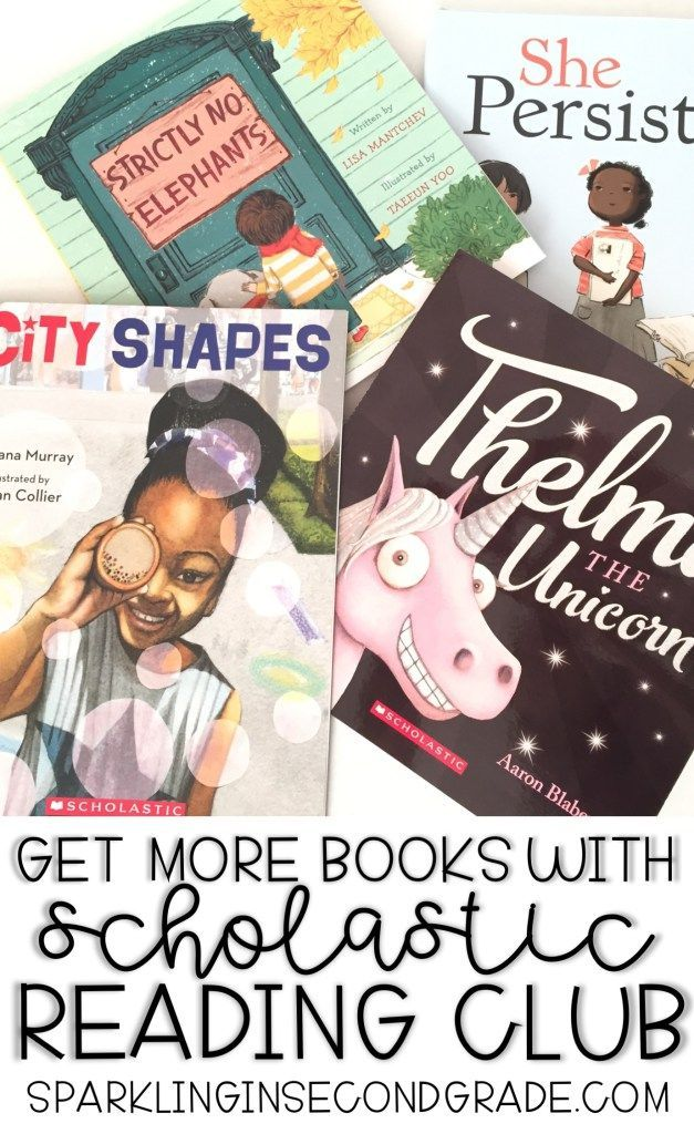 Get more (FREE) books with Scholastic Reading Club!